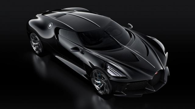 Bugatti La Voiture Noire felülről