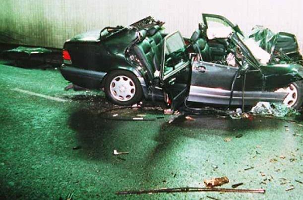 Lady Diana autóbaleset