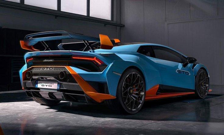 Lamborghini Huracán hátulról