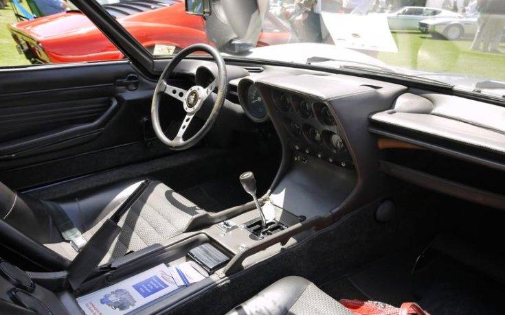 Lamborghini Miura belső