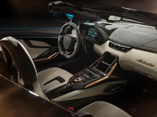 Lamborghini Sián Roadster beltere