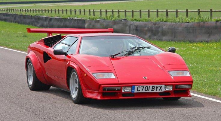 Lamborghini Countach LP500 szemből