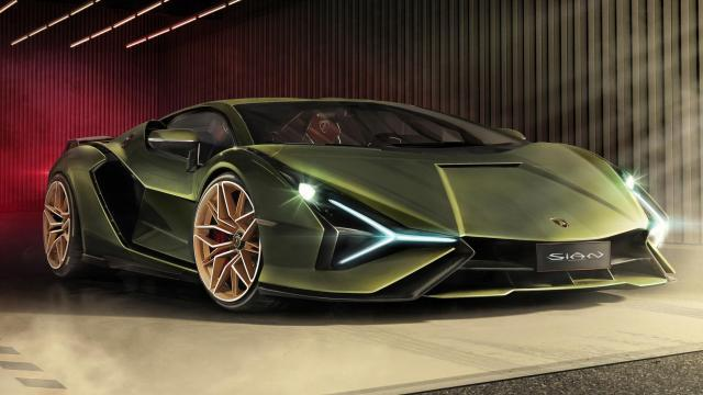 Lamborghini Sián elölről
