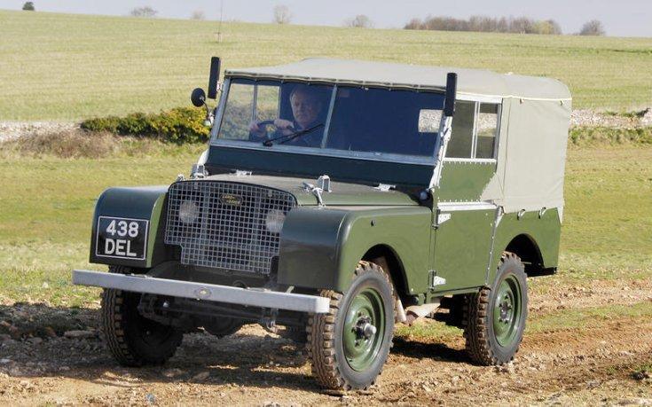 első Land Rover