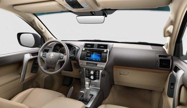 Toyota Land Cruiser utastere