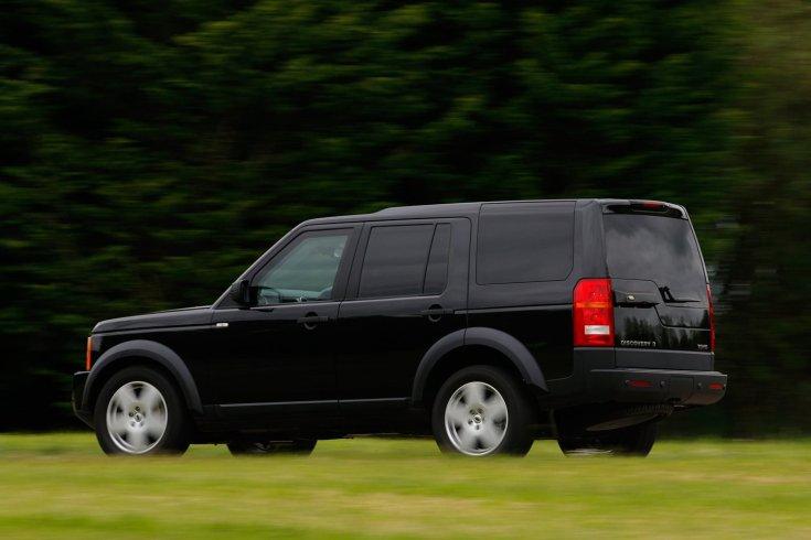 Land Rover Discovery 4 Armored, vidéki úton