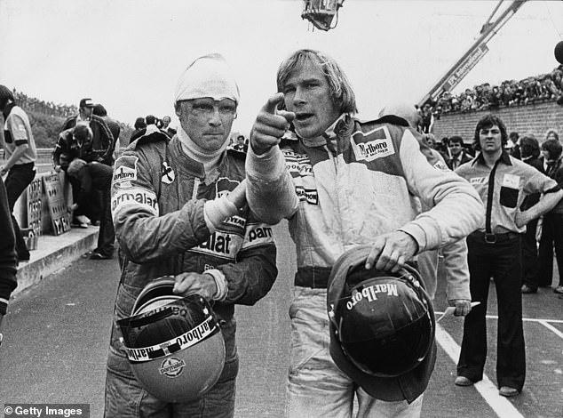 Niki Lauda és James Hunt