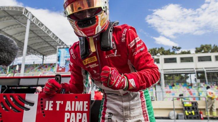 Charles Leclerc és a Prema győzelme az azeri hétvégén