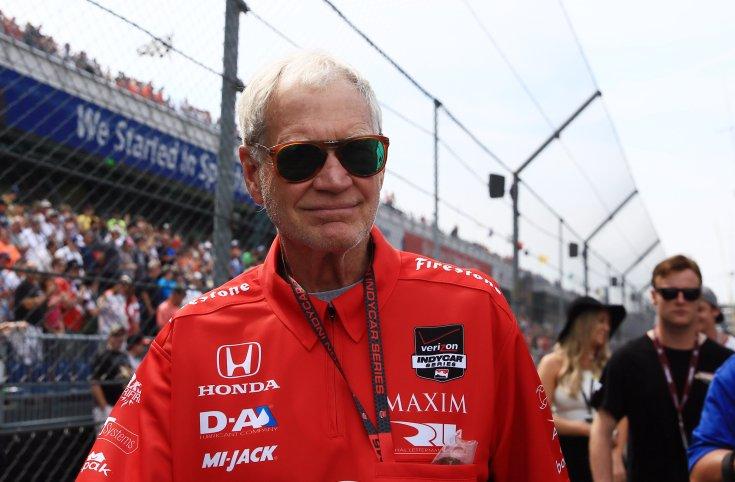 Letterman egy NASCAR versenyen