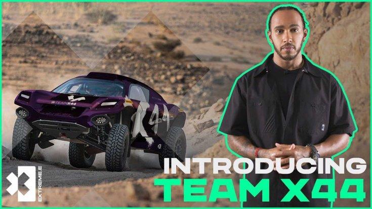 Lewis Hamilton bejelenti az X44 csapat indulását az Extreme E bajnokságban