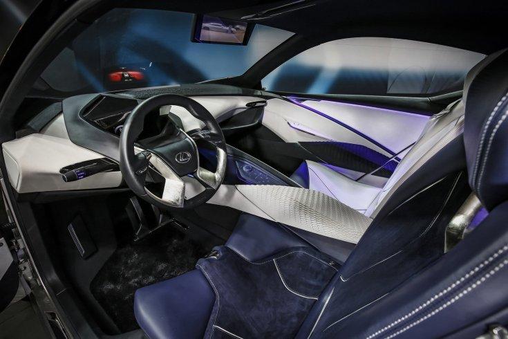 Lexus LF-SA tanulmányautó beltér