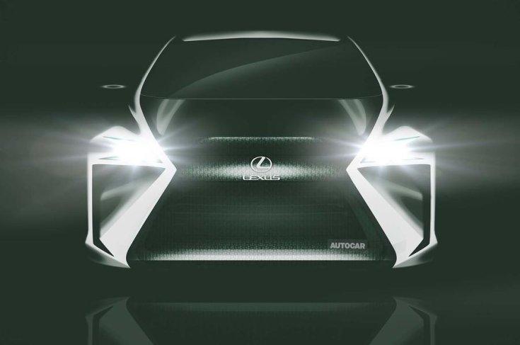 Lexus LF-SA koncepcióautó elölről