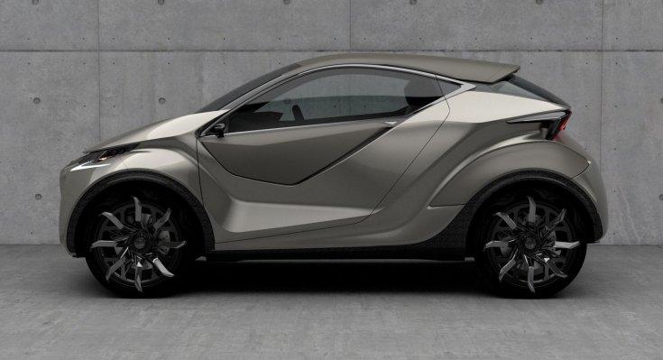 Lexus LF-SA tanulmányautó oldalról