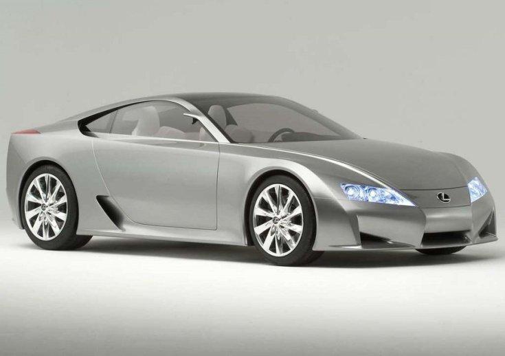 2005-ös Lexus LFA konceptautó
