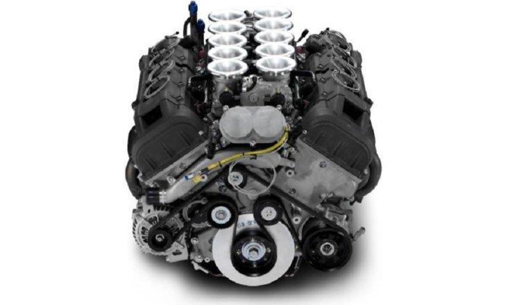 A Lexus LFA V10-es motorja