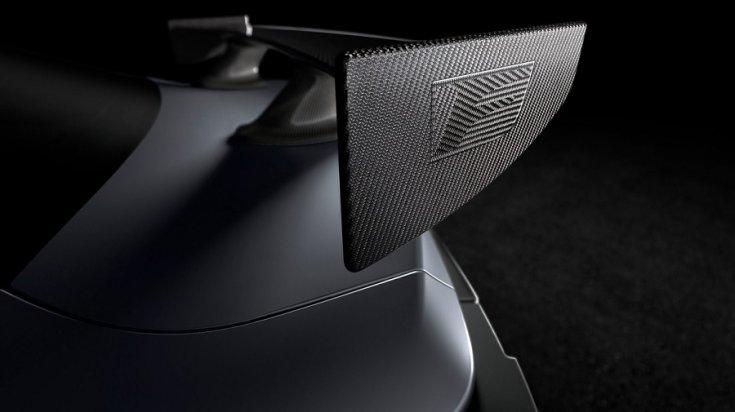 Lexus RC F Track Edition hátsó szárny