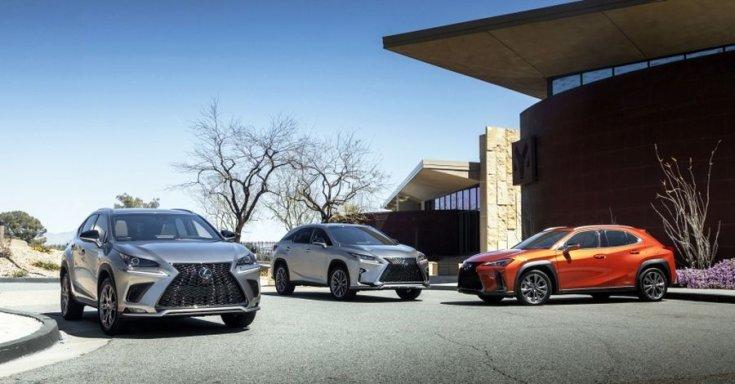 Lexus modellek