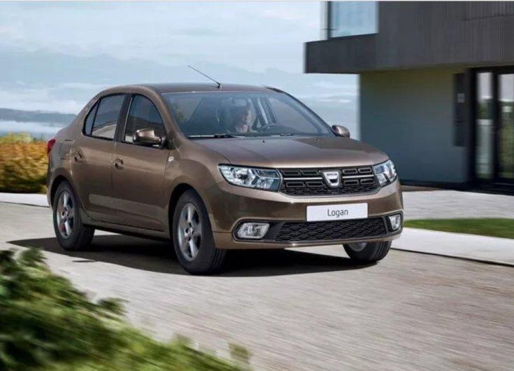 2021 Dacia Logan, szemből fotózva