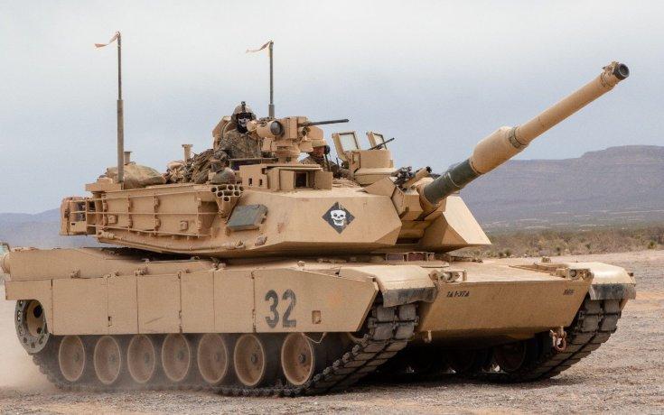 Abrams M1A2, sivatagban