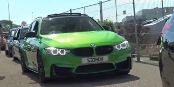 Lopott alkatrészekből épített BMW M3 Touring