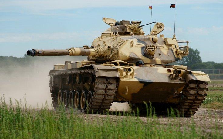 M60 Patton, földúton