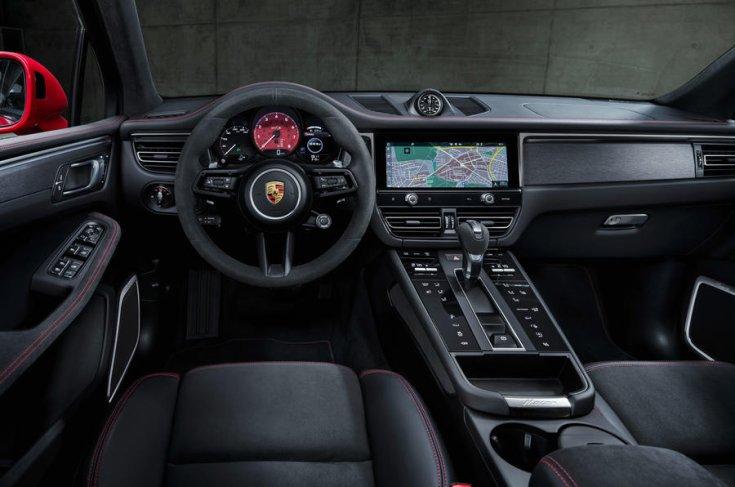 A Porsche Macan utastere