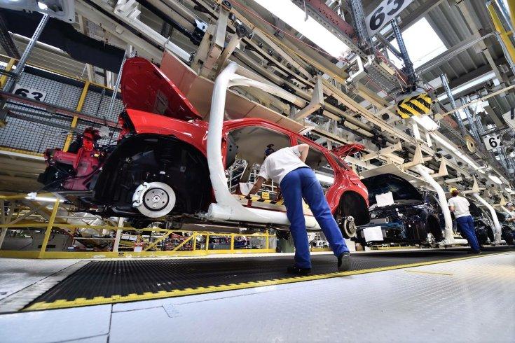 Esztergomi Suzuki-gyár belülről