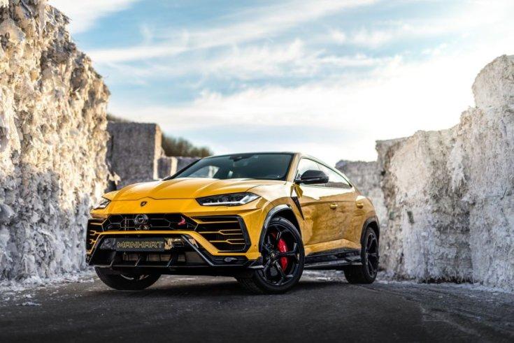 800 lóerős Lamborghini Urus