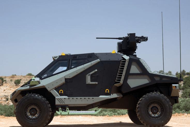 Mantis Armored Vehicle