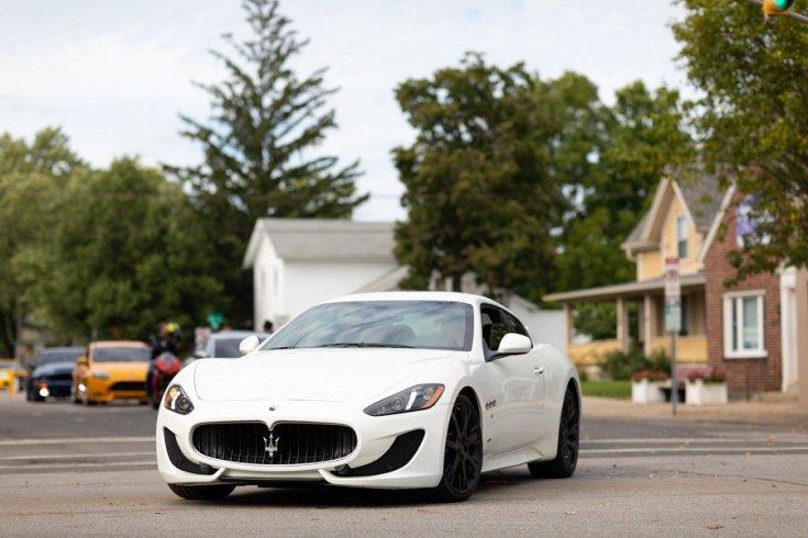 Maserati Ghibli ACD fesztiválon