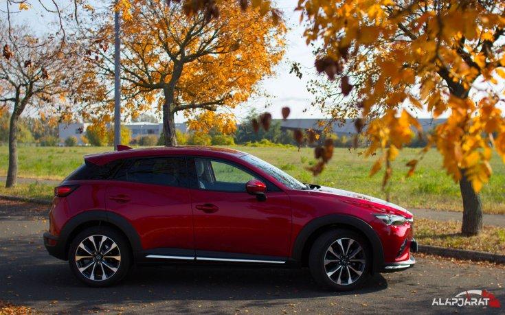 Mazda CX-3 2018 - Teszt