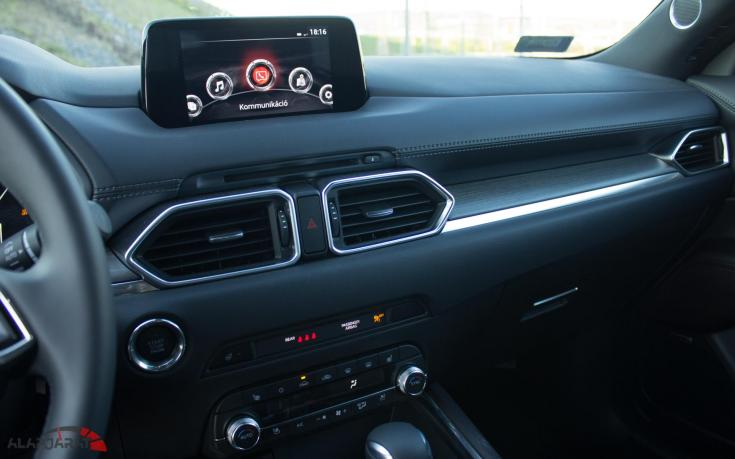 Mazda CX-5 Teszt Alapjárat