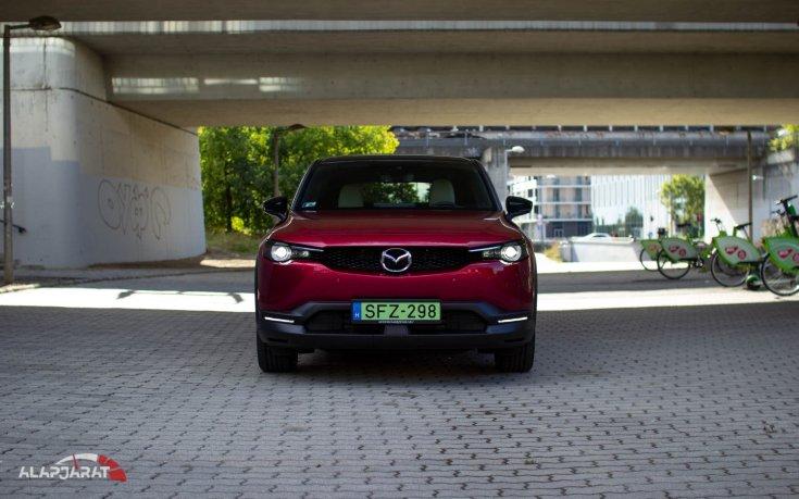 Mazda MX-30 teszt Alapjárat