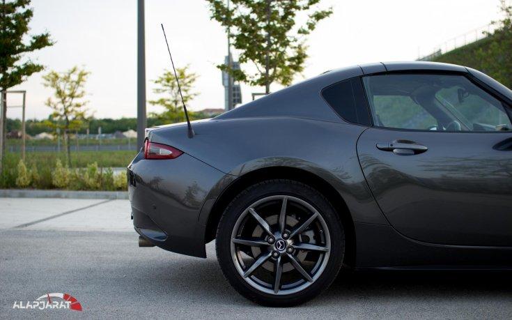 Mazda MX-5 RF - Teszt Alapjárat