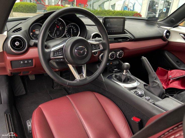 Mazda MX-5 G184 teszt Alapjárat