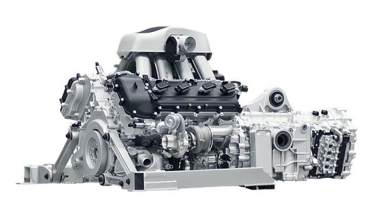 McLaren V8 motor