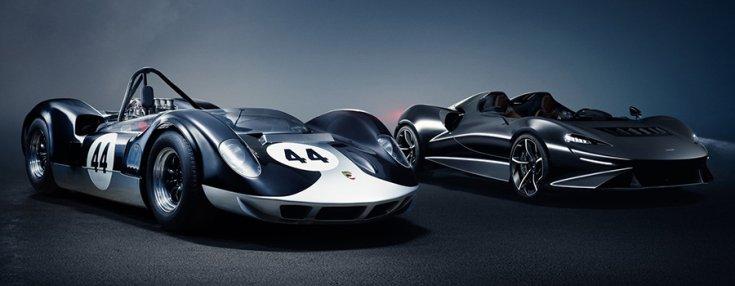 A McLaren-Elva M1  és az új Elva