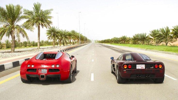 McLaren F1 és Bugatti Veyron