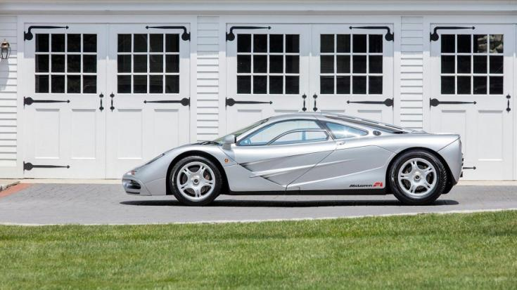 McLaren F1 oldalról