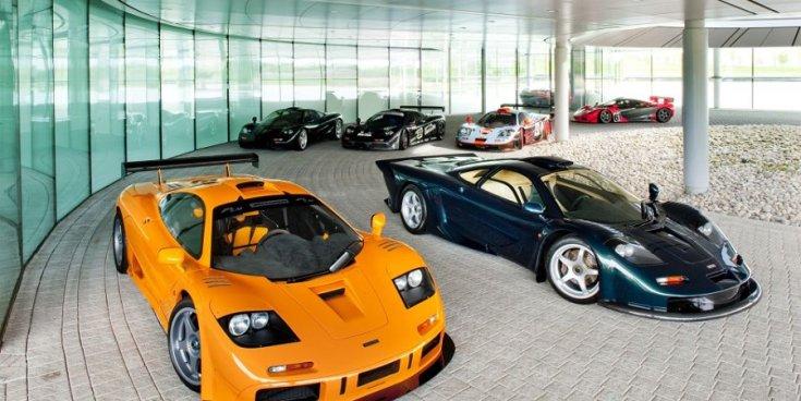 McLaren F1 különböző változatai