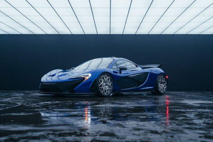 McLaren P1, HRE felniken