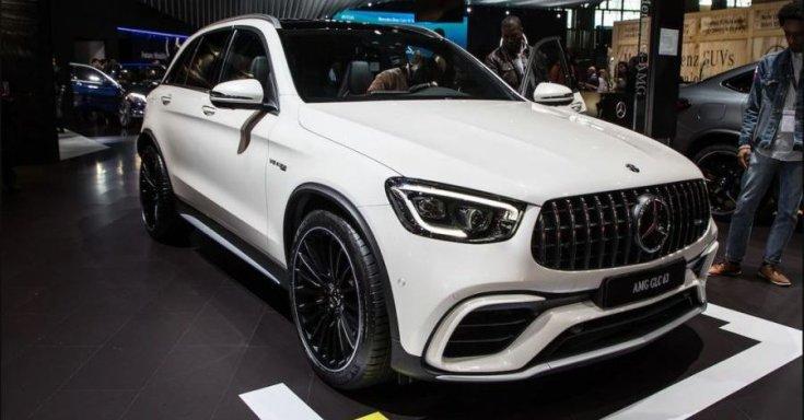 Mercedes-AMG GLC 63 2020 orr