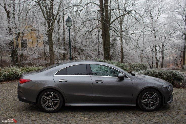 Mercedes CLA 200 teszt alapjárat