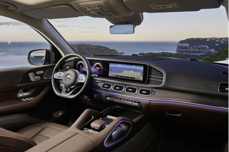 Mercedes-Benz GLS 2020 beltér