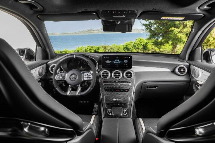 Mercedes-AMG GLC 63 2020 belső