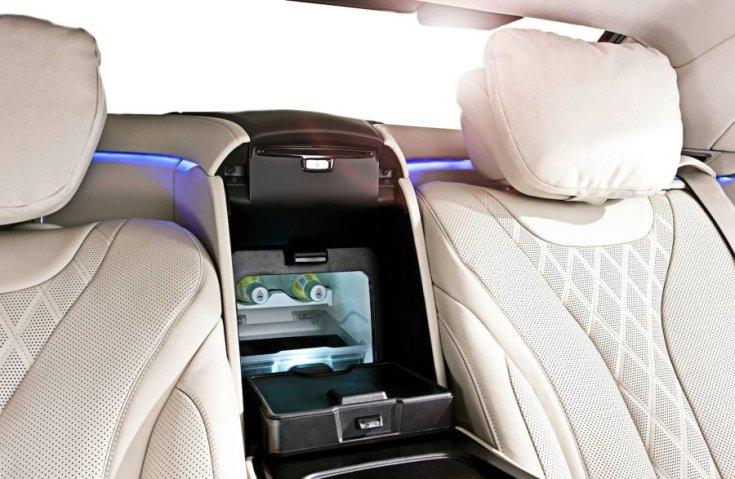 Mercedes-Benz S-osztály hűtő