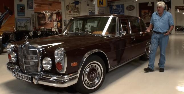 Jay Leno és a Mercedes-Benz 600 Kompressor