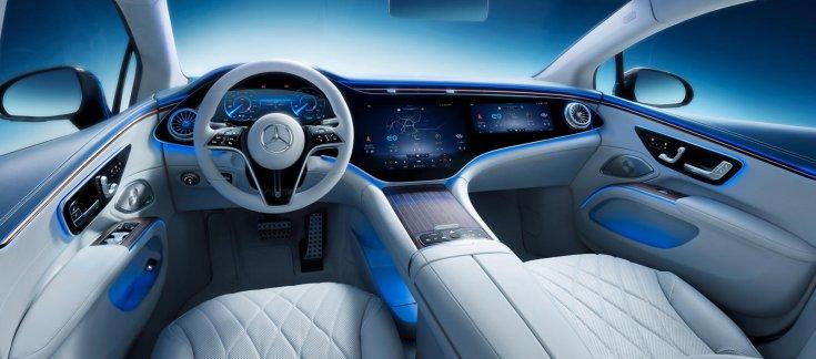 Mercedes EQS utastere