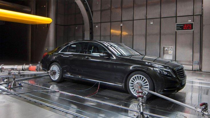 Mercedes-Benz S WLTP fogyasztásmérés