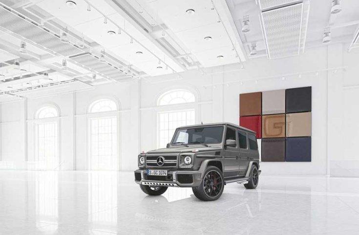 Mercedes G-osztály SUV elölről